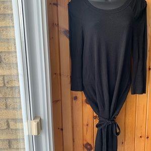 Max Studio Black Dress with open shoulders